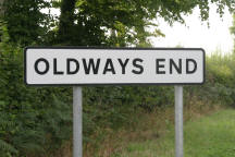 Oldways end street name sigh